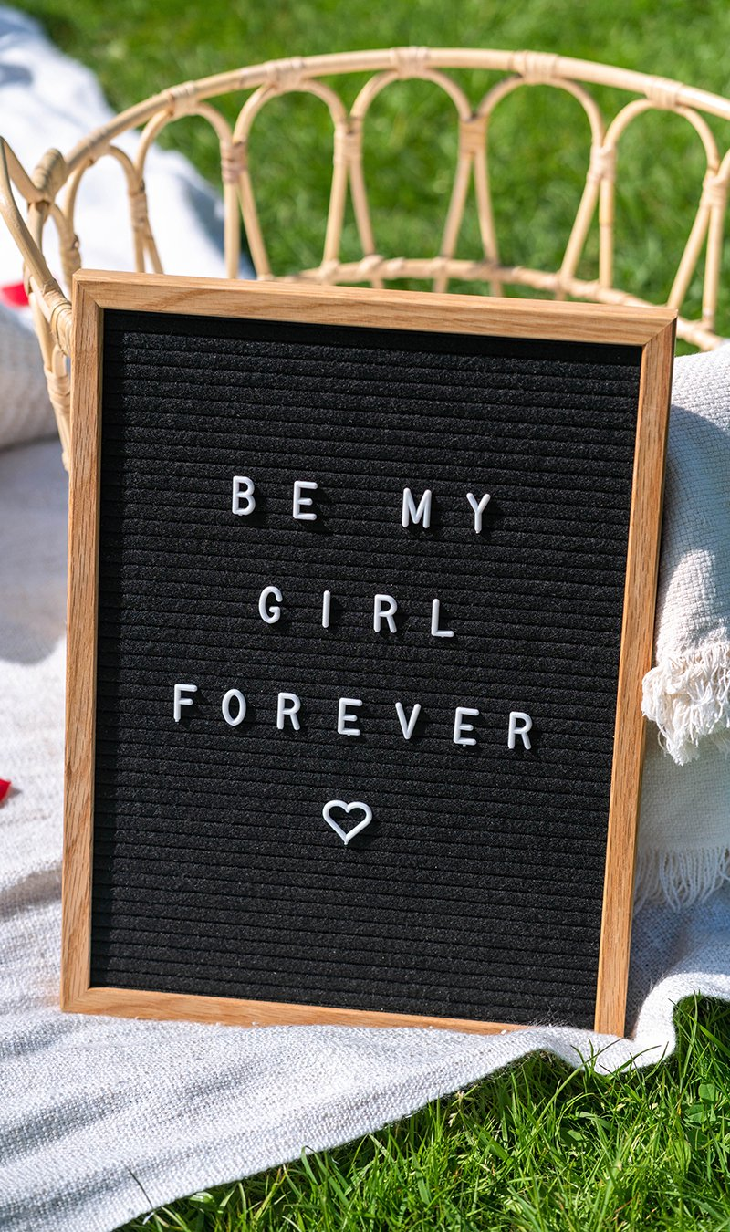 Express your love with a personalized message!